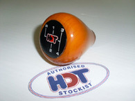 HDT Gear Knob Wood VH Commodore