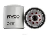 RYCO Oil Filter - Z418 suit Toyota Supra, Hilux, Hiace & 2L Ecoboost Falcon