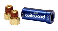 WILWOOD Residual Pressure Valve Blue - 2psi, With Fittings