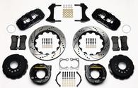 """WILWOOD AERO4 Big Brake Rear Kit - 4-Piston 14"""" Suit Ford Big Bearing 9"""""""