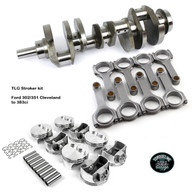 TLG Ford 302/351 Cleveland to 383ci Stroker Kit
