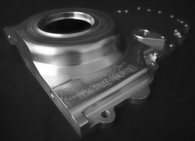 SHAUNS CUSTOM ALLOY GM LS Series 2-Piece Billet Timing Cover