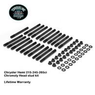 TLG Chrysler Hemi 215-245-265ci Head Stud kit - 8740 Chromoly steel