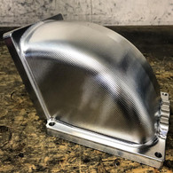 SHAUNS CUSTOM ALLOY Billet Throttle Body Elbow - 4500 to 105mm TB - RAW