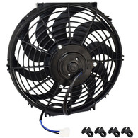 "PROFLOW Reversable Curved Blade Thermo Fan - 12"" 12V - 160w"