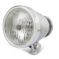 "TLG 4.5"" Vintage Style Headlight - CHROME"