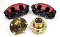 TLG Holden VB-VP to VT-VZ Commodore Brake Upgrade - Hubs and Calipers RED