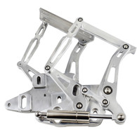 PROFLOW Ford Falcon XR-XY Bonnet Hinge Kit - Polished