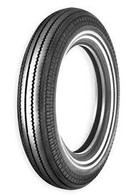 "SHINKO 270 Super Classic Motorcycle tyre - 5.00x16"" Double White Wall"