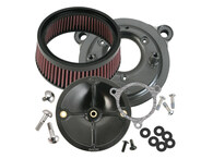 S&S Cycle Stealth Air Cleaner Kit - Harley FLH 2008up w/TBW