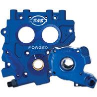 S&S TC3 Oil Pump and Cam Support Plate Kit Big Twin'07 up (Exc FXD'06) Gear Drive