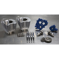 S&S Power Pack Silver 100ci Big Twin'99-06 w585GE Cams Silver 100ci Cylinder's