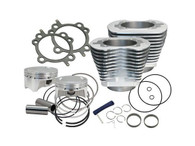 "S&S 4"" Sidewinder Big Bore Kit Silver for Big Twin'07-17 Models"