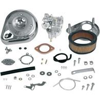 S&S Super E Complete Carburettor Kits w/No Manifold- Harley Shovelhead 1966-82