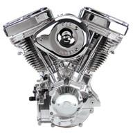 S&S V124 Complete Assembled Engine Polished w/Super G Super Stock Ignition
