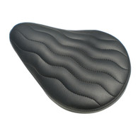 MOON Wave S-Pleated Solo Seat - Black