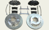 WILWOOD Nissan GQ-GU Patrol Brake Upgrade - FRONT 6 PISTON CALIPERS