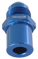 AEROFLOW Ford BA-FGX Rear Valve Cover Breather Adaptor -8AN - BLUE