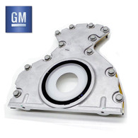 GENUINE GM LS Rear Main Plate with seal - Suit all LS Models