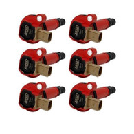 MSD Coilpack suit Ford Eco-Boost 3.5L V6 - Red 6pc