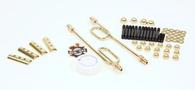 OLD-STF Ironhead Sporty Engine Hardware - BRASS Dress-up Kit
