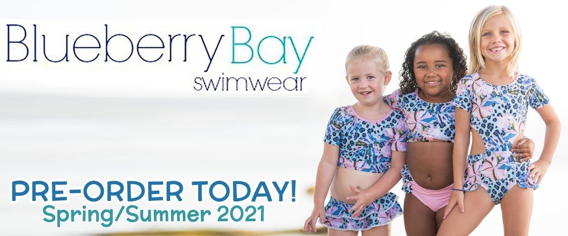 Blueberry Bay Swimwear Spring Summer 2021