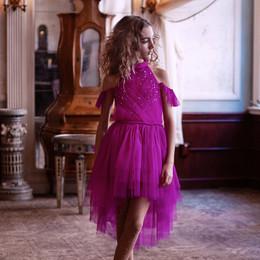 Tutu Du Monde As Time Goes By Fleur Tutu Dress - Fuchsia