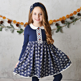 Swoon Baby by Serendipity   Raleigh Picot Petal Frock Dress