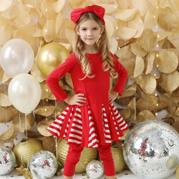 Lemon Loves Lime   Peppermint Candy Dress - True Red