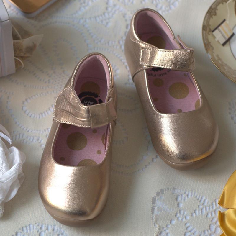 Livie \u0026 Luca Windsor Shoes - Rose Gold