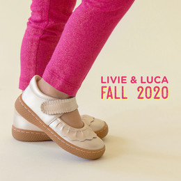 Livie & Luca   Ruche Shoes - Champagne (Fall 2020)