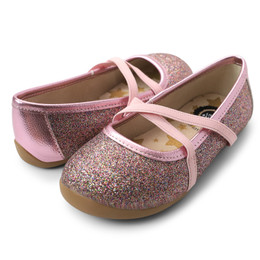 Livie & Luca   Aurora Shoes - Pink Multi Sparkle (Fall 2020)