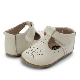 Livie & Luca   Cora III Baby Shoes - Milk (Fall 2020)