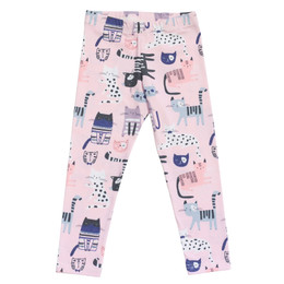 Be Girl Clothing     Playtime Favorites Classic Leggings - Cat Fancy