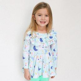 Be Girl Clothing     Playtime Favorites Sweet Comfort Tunic - Unicorn Dreams