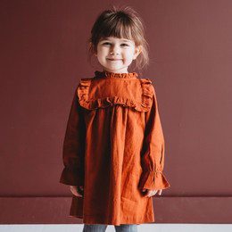 Ren & Rouge Yolk Ruffle Dress