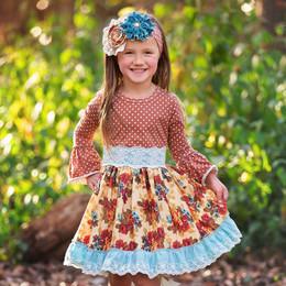 Haute Baby       Vintage Bouquet Dress