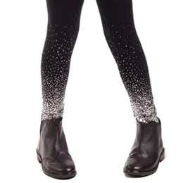 Imoga  Adele Metallic Ombre Leggings - Black