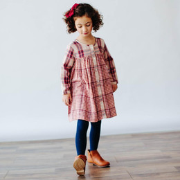 Lali Kids  Prelude To A Dream Cleo Dress - Red Chex