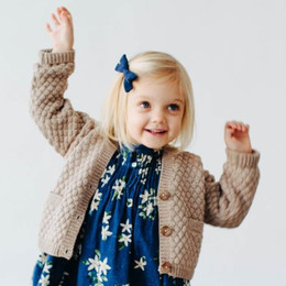 Lali Kids  Prelude To A Dream Alpaca Cardigan - Oatmeal