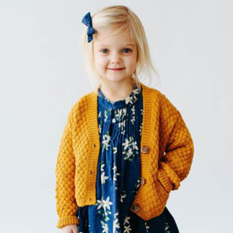Lali Kids  Prelude To A Dream Alpaca Cardigan - Mustard