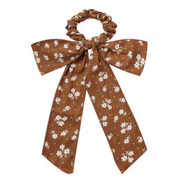 Rylee & Cru   Enchanted Forest Bow Scrunchie Hair Scarf - Cinnamon  Ditsy (Drop 1)