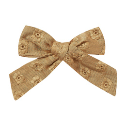 Rylee & Cru   Enchanted Forest Bow - Goldenrod Eyelet (Drop 1)
