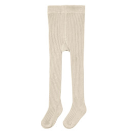 Rylee & Cru   Enchanted Forest Rib Knit Tights - Natural (Drop 1)