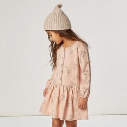 Rylee & Cru   Enchanted Forest Button Up Dress - Fairies - Rose (Drop 1)