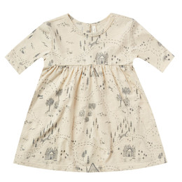 Rylee & Cru   Enchanted Forest Finn Dress - Into The Woods - Ivory (Drop 1)