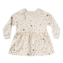 Rylee & Cru   Enchanted Forest Raglan Dress - Starburst - Natural (Drop 1)