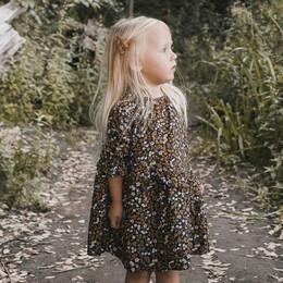 Rylee & Cru   Enchanted Forest Hazel Dress - Vintage Black Floral (Drop 1)