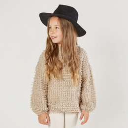 Rylee & Cru   Enchanted Forest Slouchy Pullover Sweater - Oat (Drop 1)