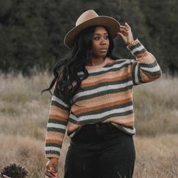 Rylee & Cru   Enchanted Forest Aspen Sweater - Tween/Women's - Multi Stripe (Drop 1)